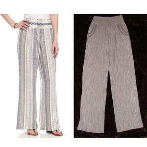 Bundle lot 2 linen blend pants M/S comfort insm 29